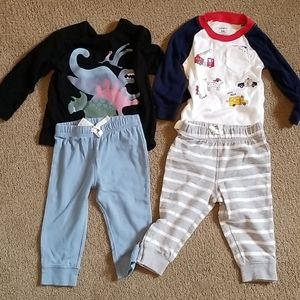 BABY  BOY  2 LOT GAP  & CARTERS  SIZE 9M